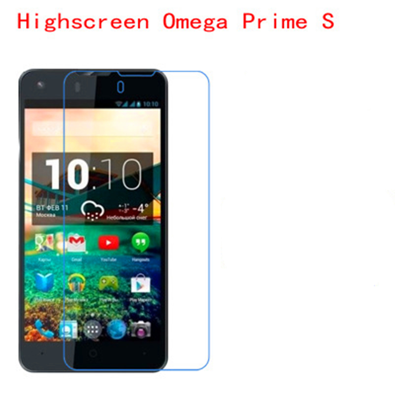 5 Pcs Ultra Thin Clear HD LCD Screen Guard Protector Film With Cleaning Cloth For Highscreen Omega Prime S!