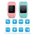 Excelvan kids smart watch reloj teléfono de la tarjeta sim gps tracker sos apoyo llamada Segura Niños Reloj para Android y iOS pk Q50 G36