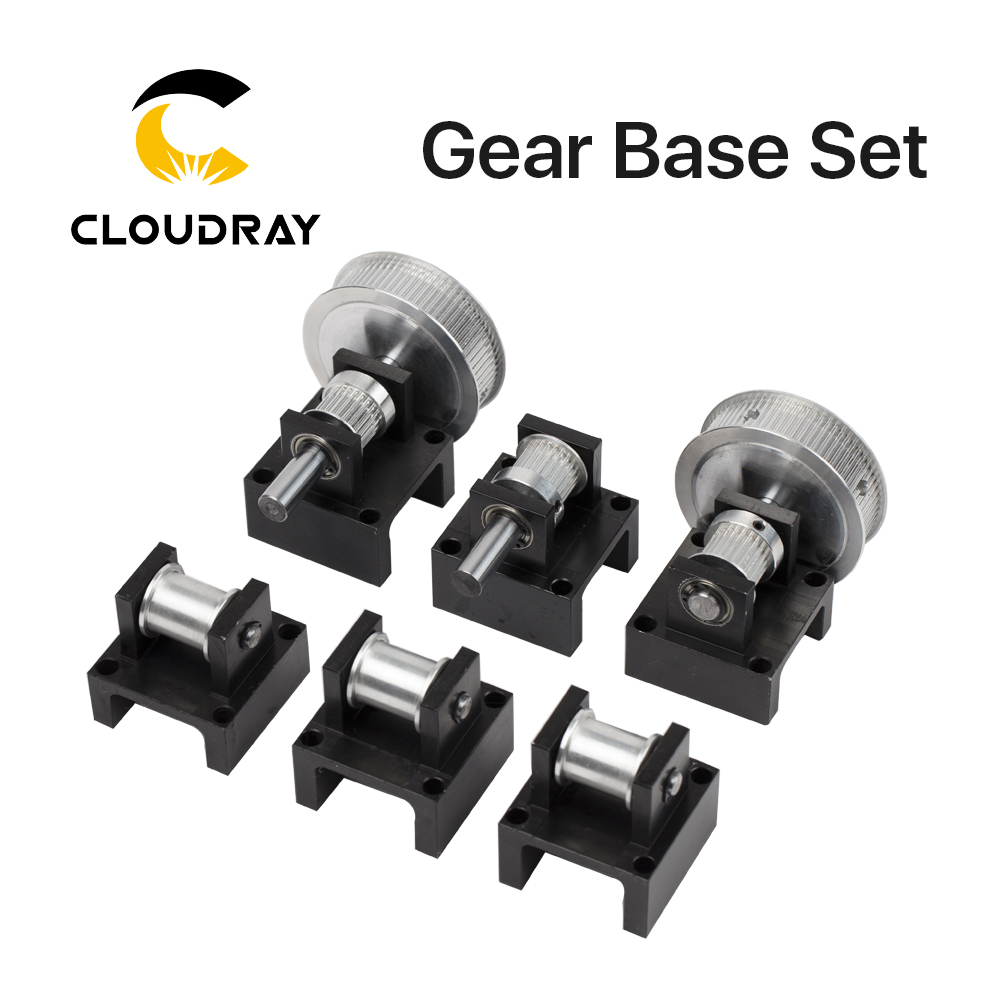 Gear Base Set Machine Mechanical Parts for Laser Engraving Cutting Machine