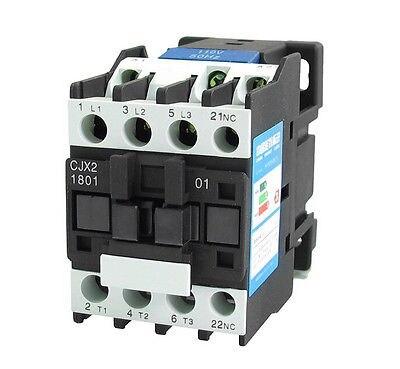 110V Coil Motor Controler AC Contactor 3P 3 Pole NC 660V 32A CJX2-1801110V Coil Motor Controler AC Contactor 3P 3 Pole NC 660V 32A CJX2-1801