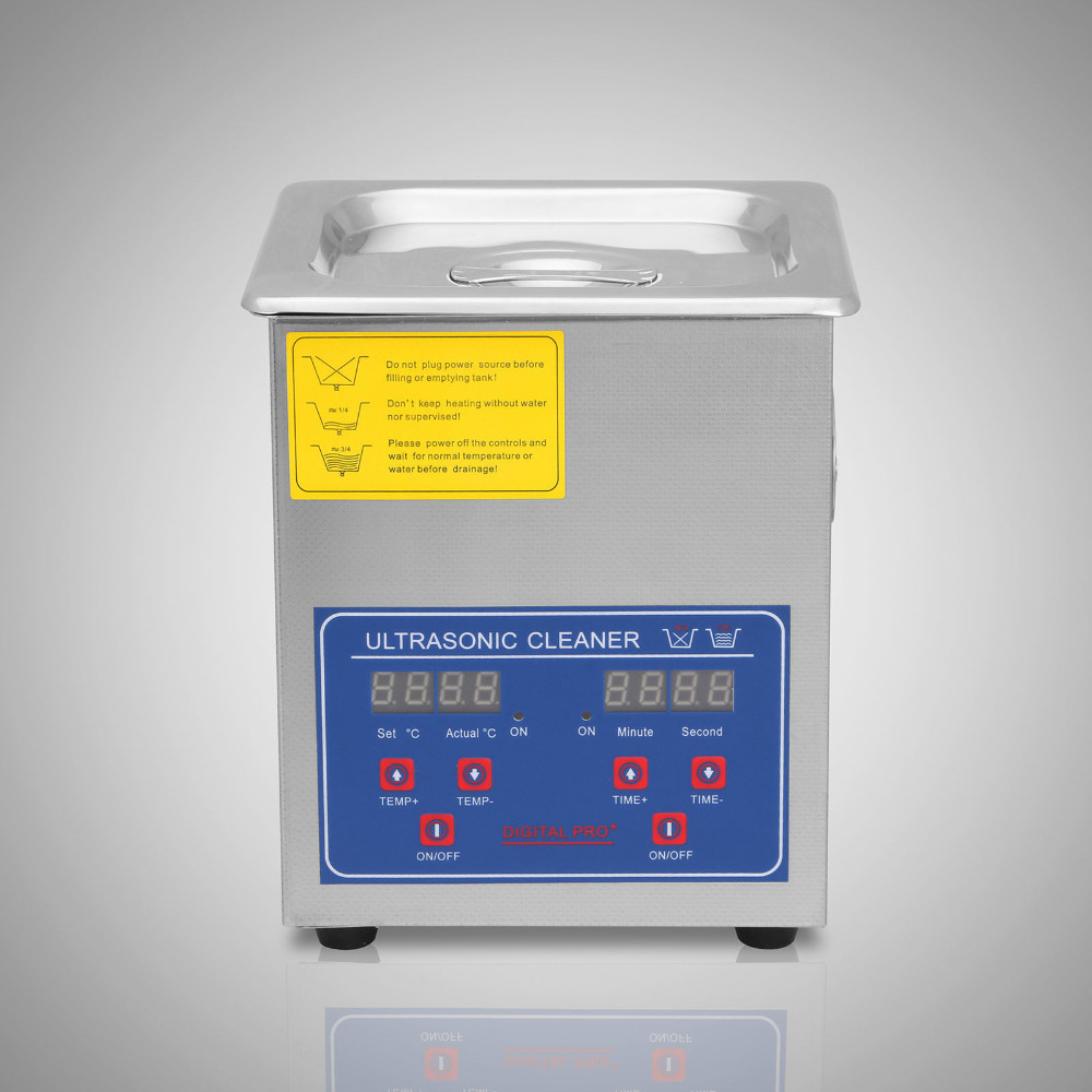 30L Heater Timer Bracket Jewelry Cleaning 1400W Digital Ultrasonic Cleaner  Stainless Steel Machine