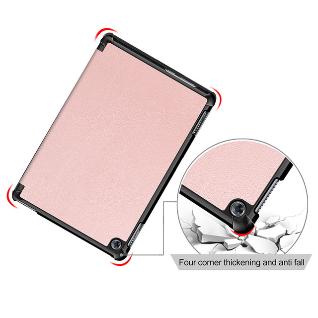 Case for Huawei MediaPad M5 Lite 10 BAH2-W19/L09/W09 Ultra Slim Pu Leather Smart Stand Cover for Media Pad M5 Lite 10.1″ Case