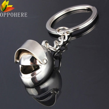 2017 Hot Sale 3D Car Motorcycle Bicycle Helmet Auto Key Chain Ring Keychain Keyring Silver Plated Cool Мотоцикл