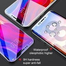 6D on Glass for Xiaomi Redmi Note 7 6 5 Pro 4X Screen Protector Redmi 7 6A 5 Plus Tempered Glass for Xiaomi Mi 9 8 A2 Lite Mi A1