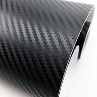 600cm 80cm 3D Carbon Fiber Fibre Vinyl Film Sheet DIY Car Stickers Waterproof Motorcycle Car Styling