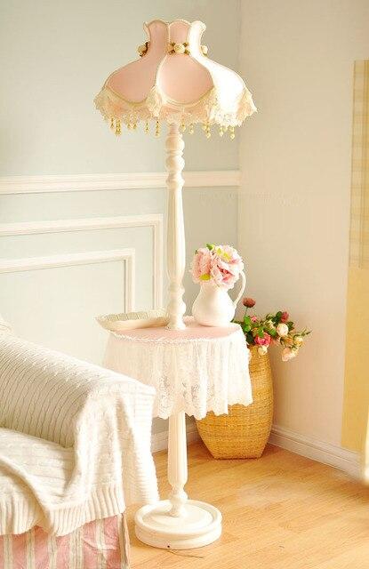 Floor Lamp Wooden Warm Romantic Princess Floor Light 90 260v E27 BULB For  Living Study