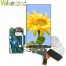 цена на 5.5 inch 2K lcd display ls055r1sx04 LCD for 3D printer wanhao d7 lcd screen controller hdmi to mipi board Backlight removable
