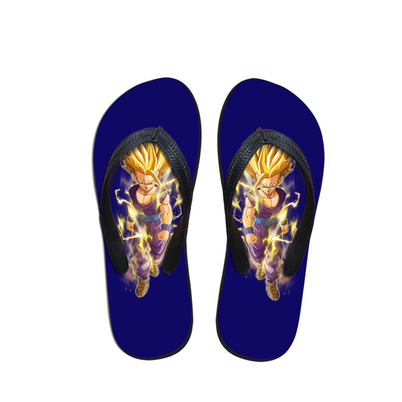 efd8141a81784 FORUDESIGNS 2018 Women Casual House Slippers Anime Dragon Ball Pattern  Summer Flats Flipflops Beach Sandals for Ladies Student-in Flip Flops from  Shoes on ...
