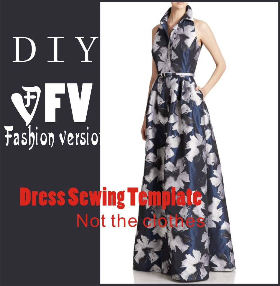 Clothing DIY The dress Dresses Sewing Pattern cutting drawing BLQ ...