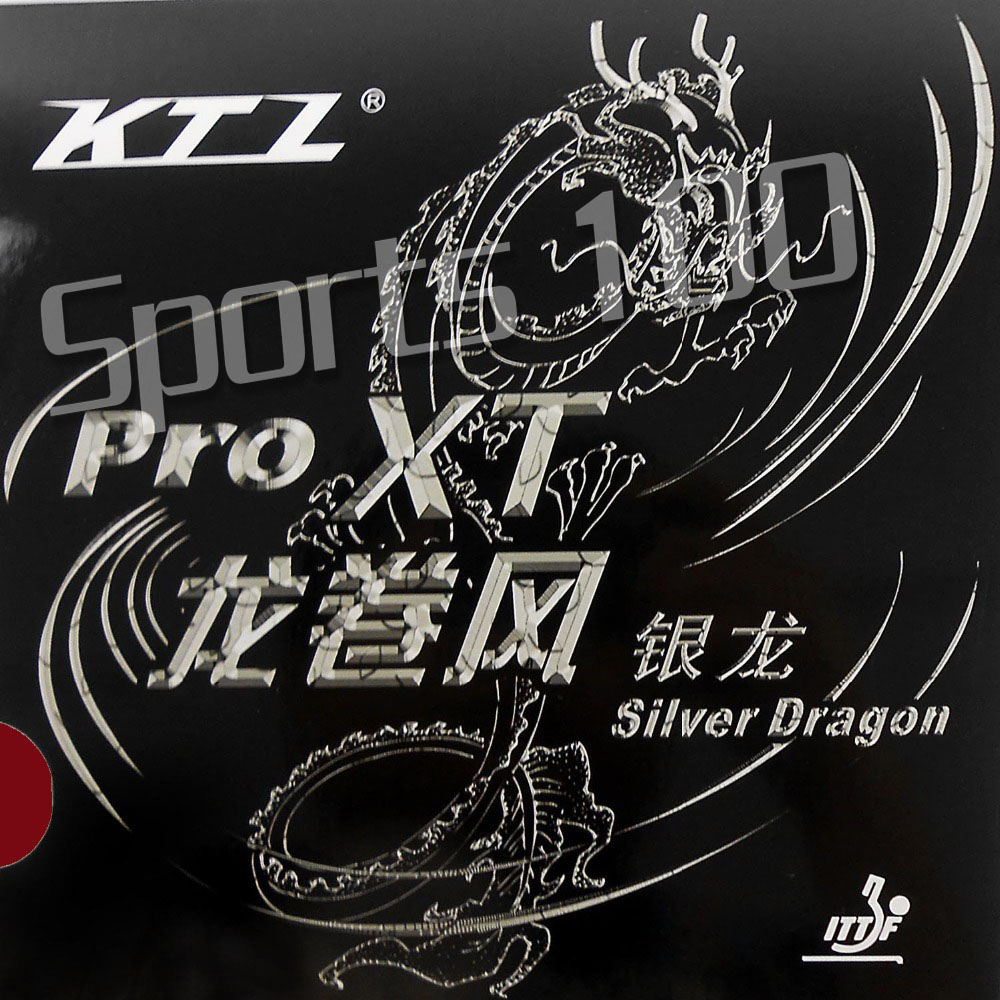 KTL Pro XT Silver Dragon Pimples In Table Tennis Rubber With Sponge