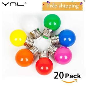 20PCS Lampada LED Lamp Colorfu