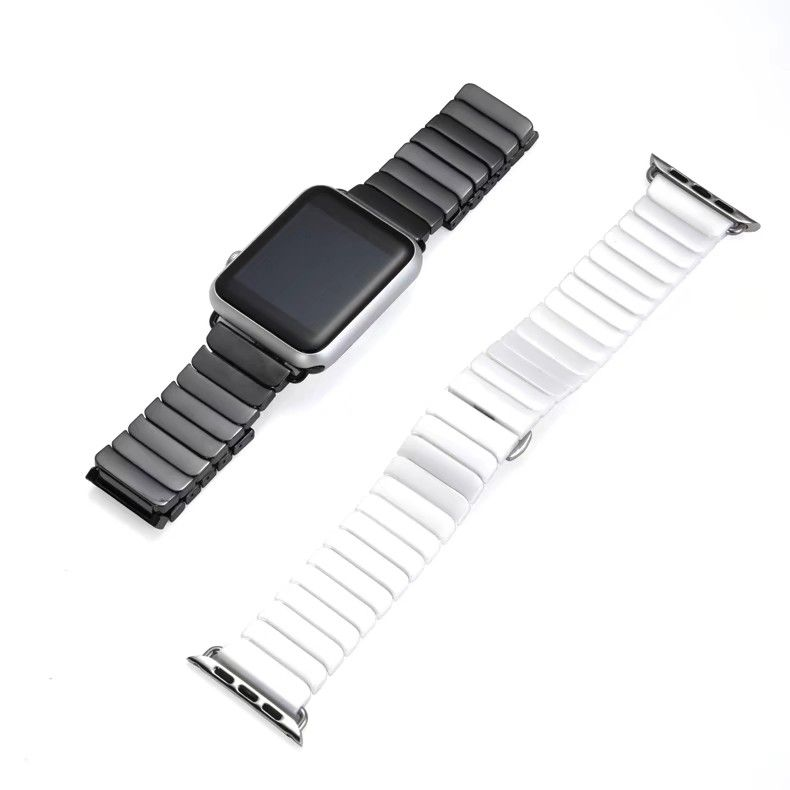 2017 New Ceramic Strap for Apple Watch 38mm 42mm Smart Watch Band Link Strap Bracelet References Ceramic Watchband iWatch