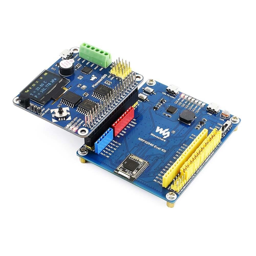 Waveshare nRF52840 Bluetooth 5 0 Evaluation Kit Arduino / Raspberry Pi  Connectivity Integrates CP2102 USB TO UART