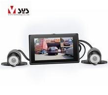 X1F car black box dual lens full hd 1080P motorcycle dvr camera, motion detection car camera support GPS and G-sendor