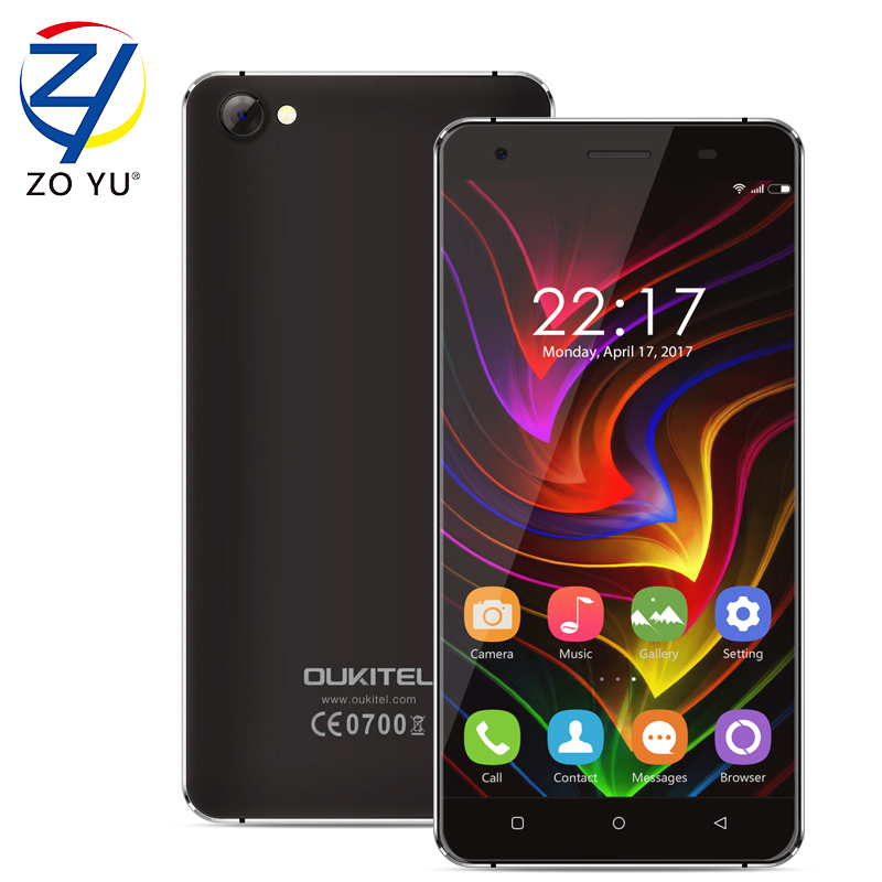 Oukitel C5 Smart Phone 3G WCDMA Android 7.0 Mobile Phone Tough Screen