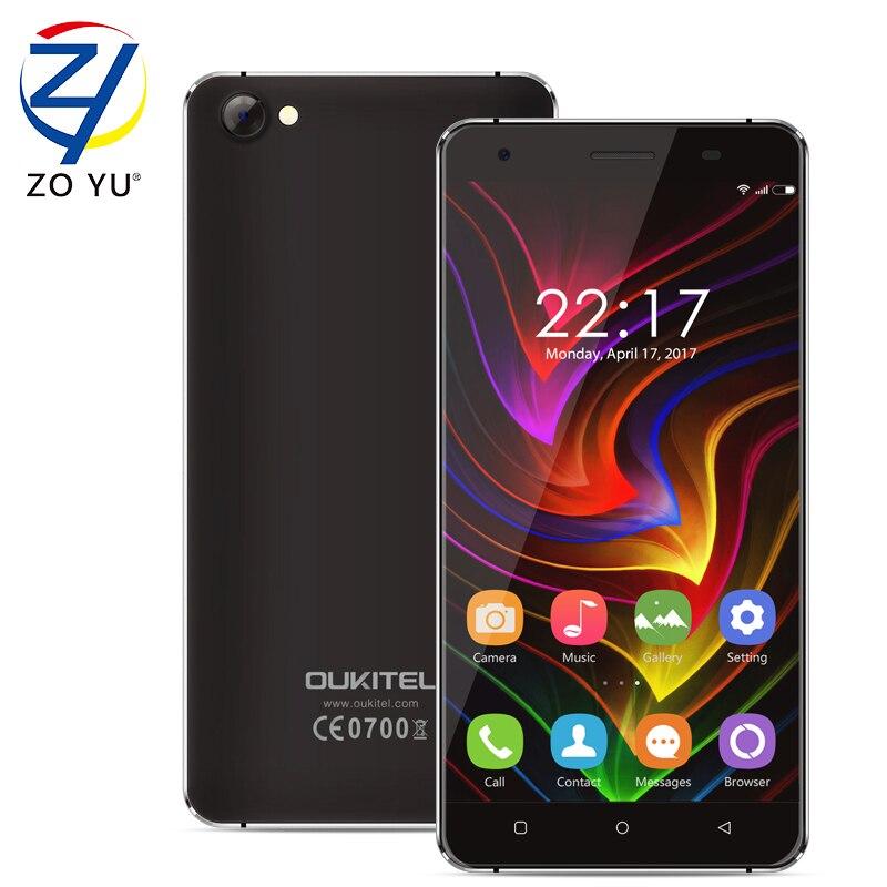 Oukitel C5 teléfono Inteligente 3G WCDMA Android 7.0 Teléfono Móvil Resistente M