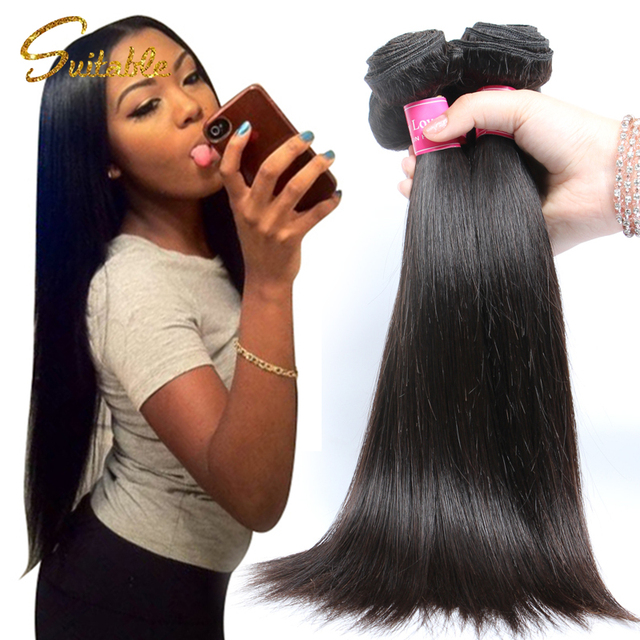 Spring Queen Hair Products Filipino Virgin Straight 3pcs 7a Unprocessed Human True Glory