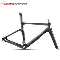 LEADNOVO 2018 MTB פחמן אופני מסגרת סיבי פחמן פחמן באיכות גבוהה ultra 700C מסגרת רכיבה על אופניים מירוץ מסגרת אופני כביש AERO