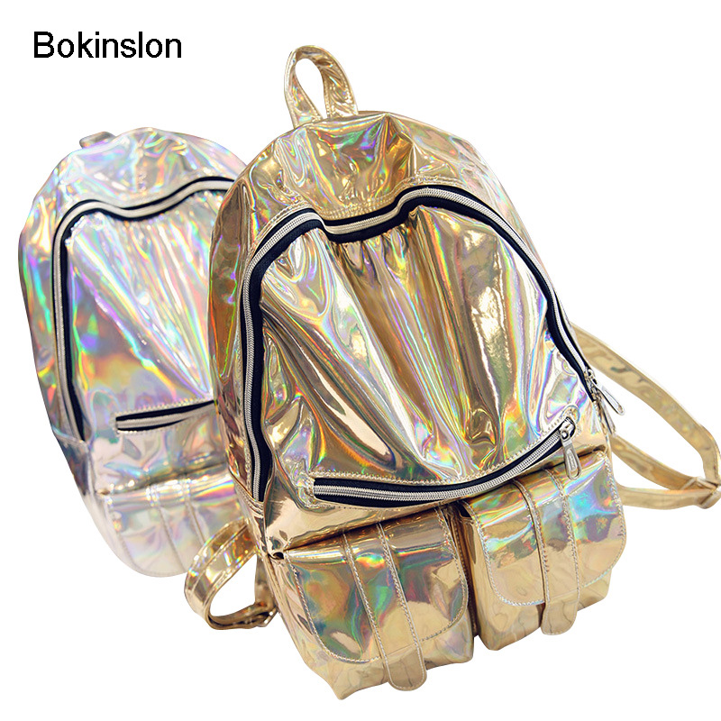 Bokinslon Travel Women Backpack Bag Fashion PU Leather Womens Brand Backpack College Wind Casual Women's Backpack bokinslon backpacks brand womens fashion classic retro women backpack bag college wind pu leather school girl backpack