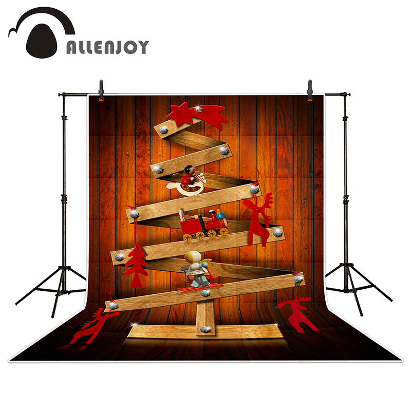Allenjoy photography backdrops Wooden Christmas tree wood brick wall backgrounds for photo studio allenjoy photography backdrops neat wooden structure wooden wall wood brick wall backgrounds for photo studio