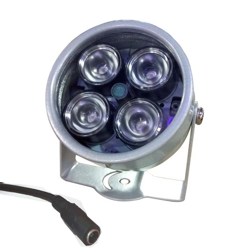 IR Infrared led 4 Array IR Leds lamp illuminator 850nm 42mil cctv Lighting for CCTV surveillance Camera Night-vision Fill Light azishn cctv 12pcs array leds ir illuminator infrared outdoor waterproof night vision cctv fill light for cctv security camera