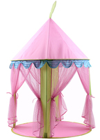 Children S Tent Indoor Folding Large Pink Princess Tent House Ocean Ball Pool Game