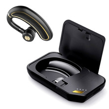 GDLYL Hands-free Wireless Bluetooth Earphone Bluetooth Headset Headphones Earbud with Microphone Earphone Case for Phone PC недорго, оригинальная цена