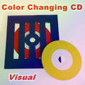 Visual Color Changing CD Frame Style - Magic Tricks,Stage,Gimmicks,Props,Illusion,Comedy,Appearing
