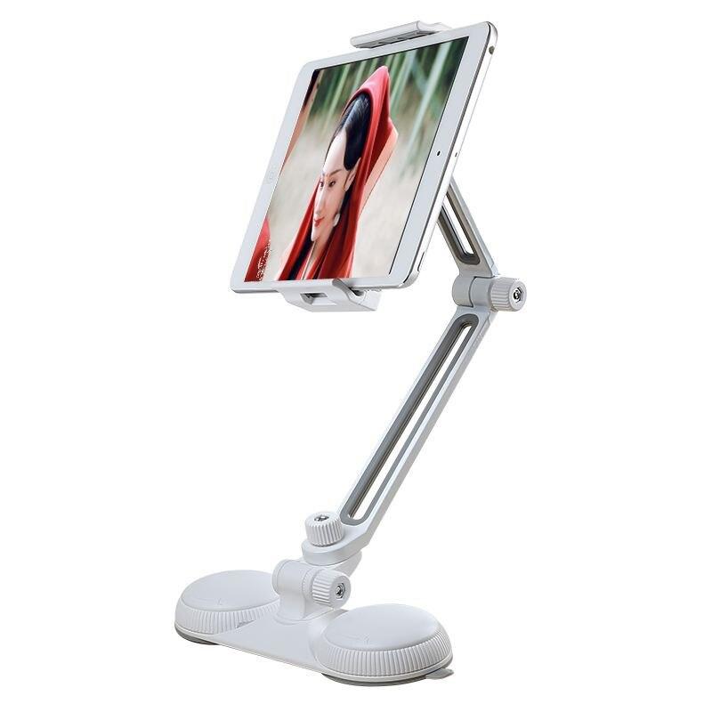 Multifonction 360 Degrés Sucker Stand Tablet/Téléphone Support Universel pour Iphone Ipad Transat Lit De Bureau Tablet Supports En Métal