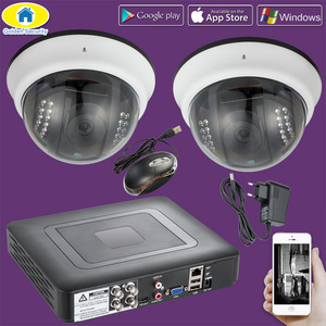 Image 1 - Golden Security 2000TVL 4CH CCTV 1080N system kamer DVR, nadzór bezpieczeństwa wodoodporna kamera ahd 720 P, noktowizor