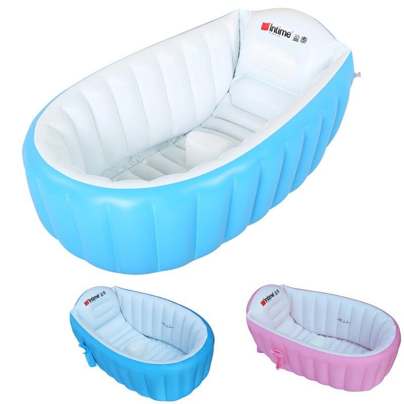 Gonflable bébé piscine écologique PVC Portable enfants baignoire enfants Mini-aire de jeux nouveau-né piscine baignoire