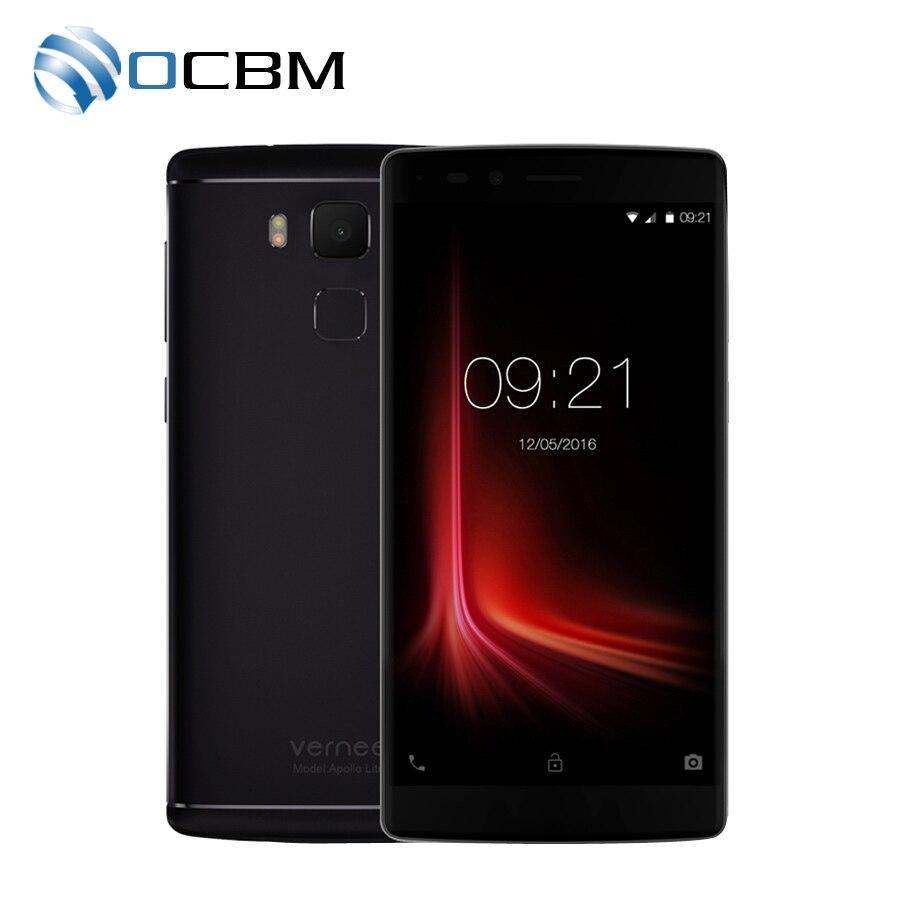 """bilder für Auf Lager Original Vernee Apollo Lite Handy 4G 5,5 """"FHD Android 6.0 MTK6797 Deca Core 4G RAM 32G ROM 16.0MP Fingerprint"""