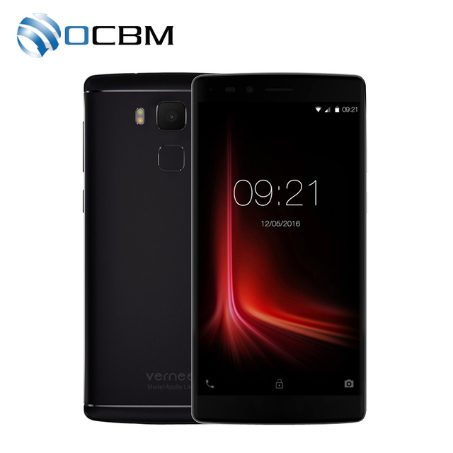 "In Stock Original Vernee Apollo Lite Mobile Phone 4G 5.5""FHD Android 6.0 MTK6797 Deca Core 4G RAM 32G ROM 16.0MP Fingerprint"