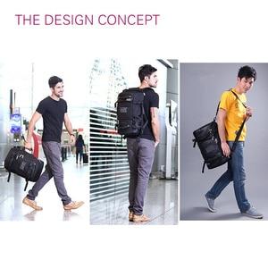 Image 4 - Portátil mochila 17 18 polegada bolsa para portátil 17.3 15.6 14 polegada ao ar livre grande mochila de viagem ombro masculino capacidade multi purpose