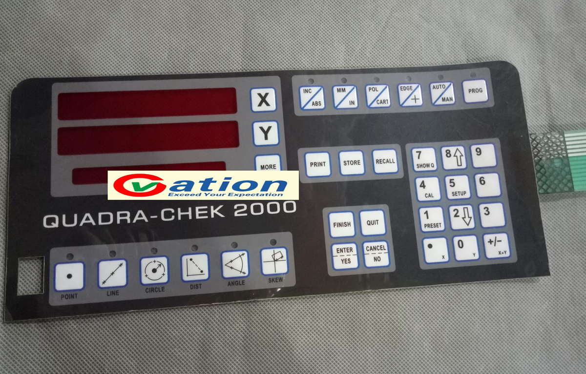 One For Chek Check 2000 XY Digital Readout membrane keypad hxx new dro display digital readout gcs900 2d with one piece for all machines