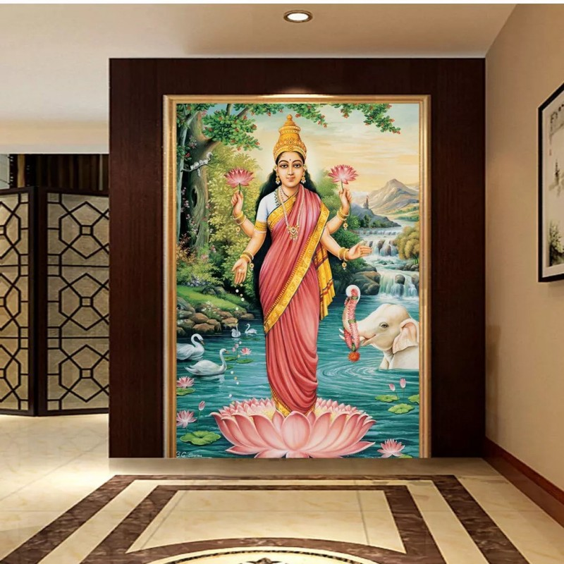 Wallpaper Custom Buddha Statue Mural India Southeast Asia