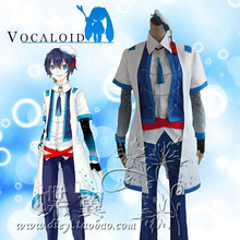 VOCALOID V ZHIYU MOKE Cosplay Costume Coat+Vest+Shirt+Collar+Pants+Sleeves+Headwear+Gloves