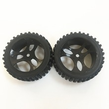 HSP RACING RC CAR ORIGINAL ACCESSORIES SPARE PART NO. 07155 WHEELS COMPLETE FOR 1/5 SCALE ELECTRIC POWER BUGGY 94077