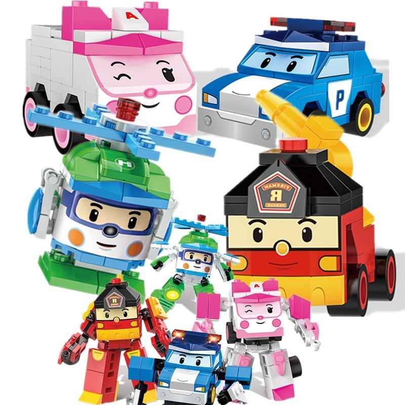 Фигурка создателя идеи полиции Хелли Янтарный Рой супер автомобильные крылья строительные блоки модельные наборы ребенок совместимый Duplo