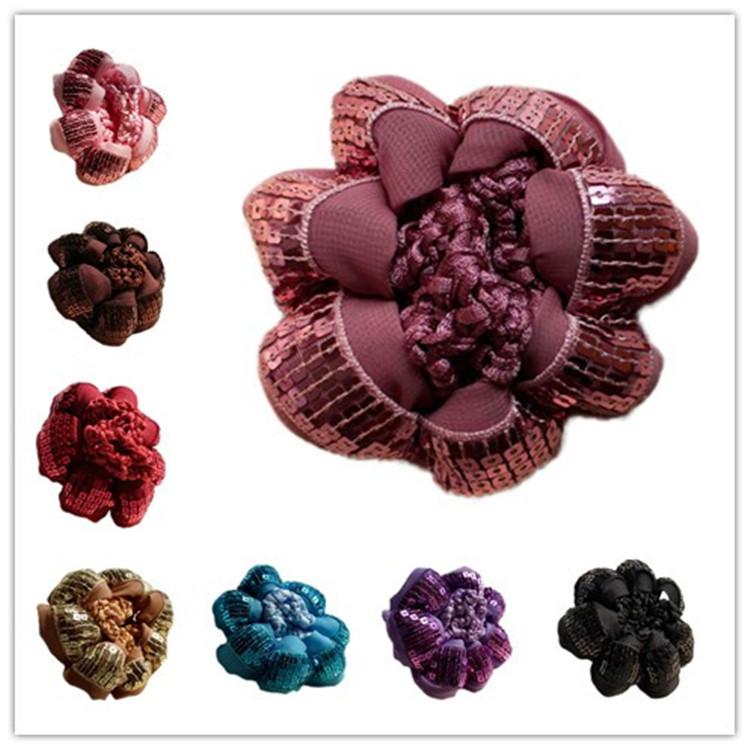 Phenomenal Online Get Cheap Crochet Hair Bun Cover Aliexpress Com Alibaba Hairstyles For Men Maxibearus