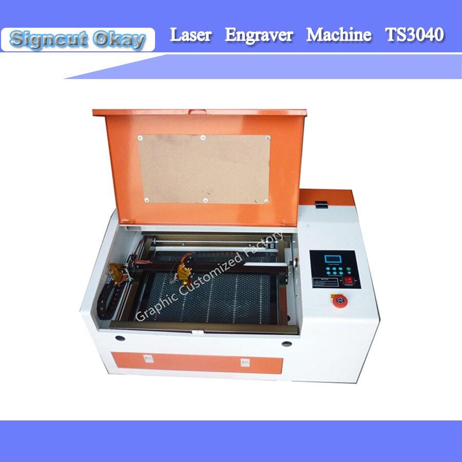 Diy Co2 40w 50w Mini Laser Stamp Rubber Engraving Cutting