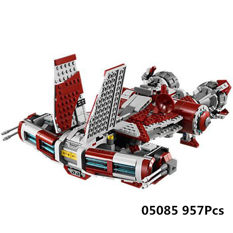05085 Genuine Star Series Wars Kits The Jedi Defender Class Cruiser Set Building Blocks Bricks Legoings Toys Clone 75025