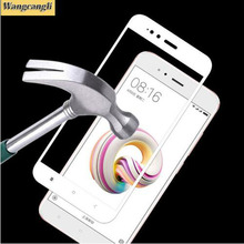 3D tempered glass for xiaomi mi a1 full cover coverage Soft edge Protective screen protector film