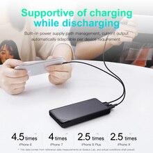 Portable Super Thin Mini Powerbank with Dual USB Ports