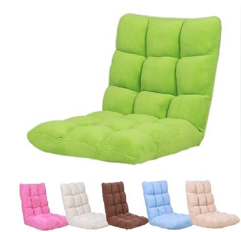 2014 Creative Lazy Sofa, Single Person Sofa Bed, Folded Cushion - Furniture