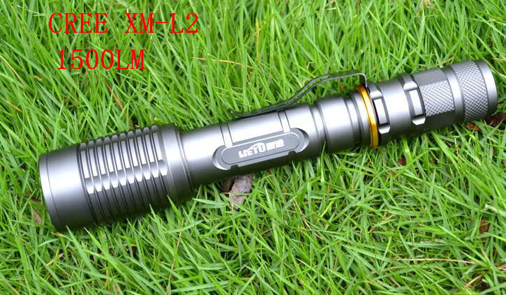 CREE XML T6 LED Flashlight 1500 Lumens High Power Torch light 18650 Battery charging waterproof genuine long-range led lamp
