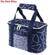 Новый 2017 Водонепроницаемый обед мешок Портативный складная сумка для пикника пищевой изоляции bag женщин Мумия пакеты изоляции горячей и холодной Ice сумки