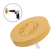 For Power Drill Rubber Eraser Wheel Pad Decals Attachment Accessories Glass Tool