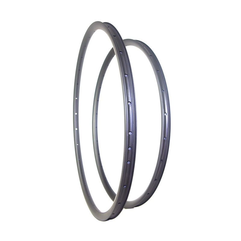 Bicycle Rim 700C 29er MTB XC 35mm Width Hookless Asymmetric Carbon Rim Clincher Tubeless UD 3K Matte Glossy 32 Holes 29 Inch Mtb 27 5 mtb carbon fiber 650b mtb rim hookless width 35mm 32hole 650b mtb rims tubeless compatible