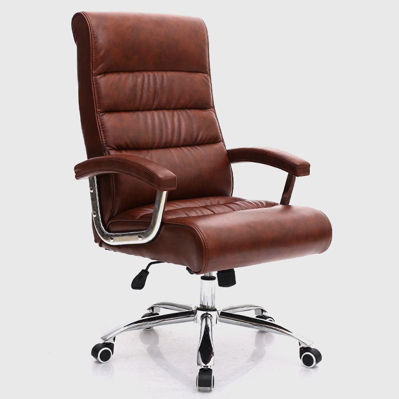 Super Soft Modern Fashion Office Chair Leisure Lifting Boss Chair Ergonomic Computer Chair Staff Meeting Swivel Chair designer chair computer chair synthetic resin and metal production out of fashion chair modern
